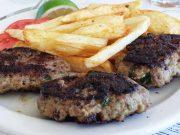 Bifteki – ground meat steak